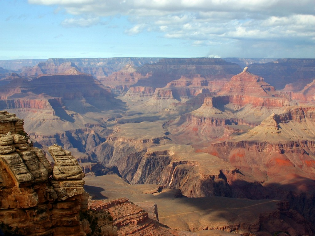 surviving a life storm is like hiking down the grand canyon...