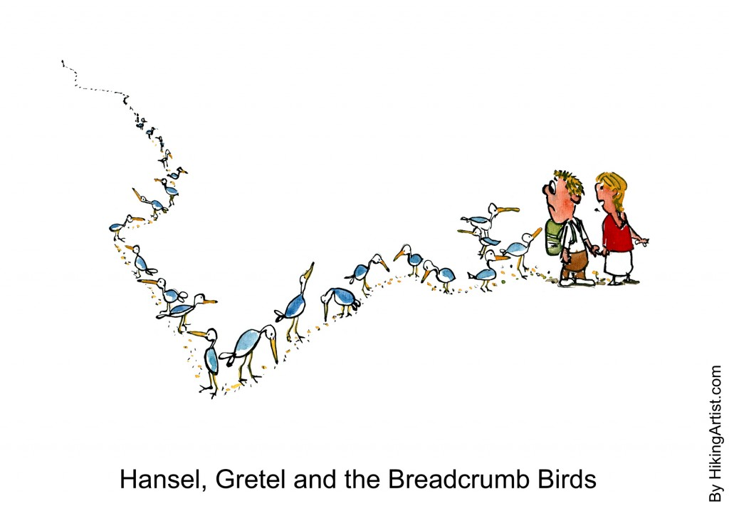 When help is offered it can be a trail of breadcrumbs...